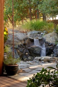 Water Feature / Pondless Water Falls