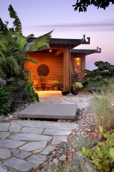 Pacific West Coast Landscape / Asian influence