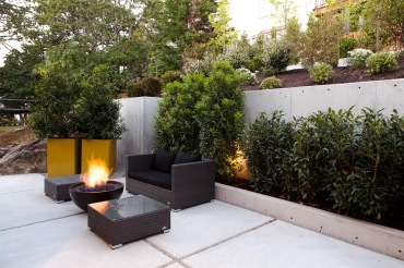 Patio and Fire Bowl