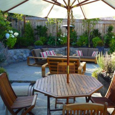 Raised Patio / Garden Inset